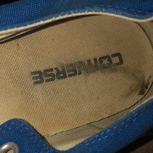 Converse Shoes - Royal blue Converses